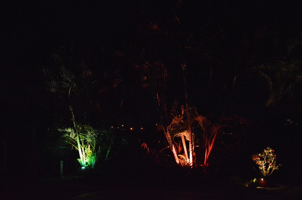 Multi-Color Landscape Lighting Systems